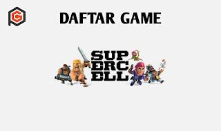 Daftar video game buatan developer supercell