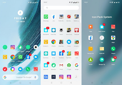 Preview UI Flyme OS Themes for OPPO Realme
