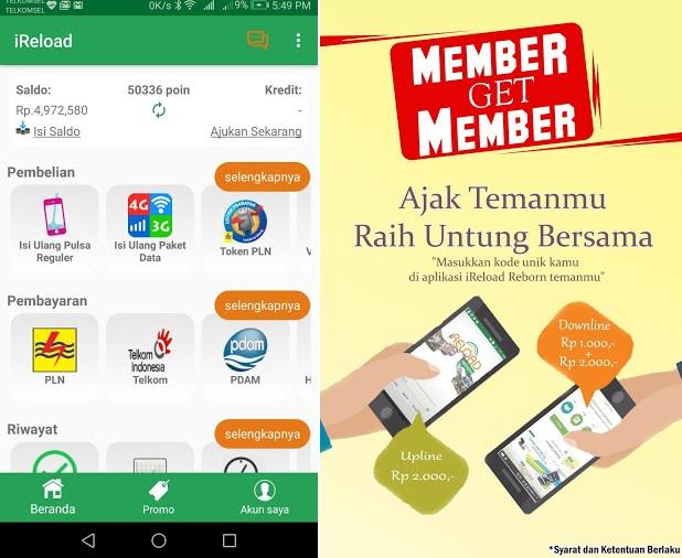 Aplikasi Untuk Jualan Pulsa Dan Paket Data