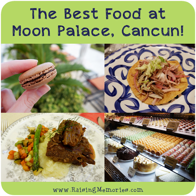 Best Food at Moon Palace Mexico