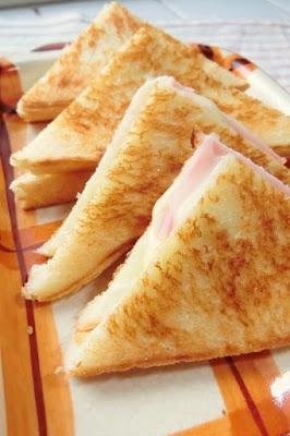 ハムとチーズのクロックムッシュ