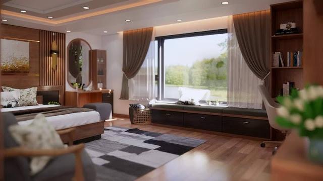 Bedroom Sketchup Interior Scene , 3d free , sketchup models , free 3d models , 3d model free download