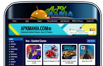 apkmania.com situs tempat download aplikasi game android