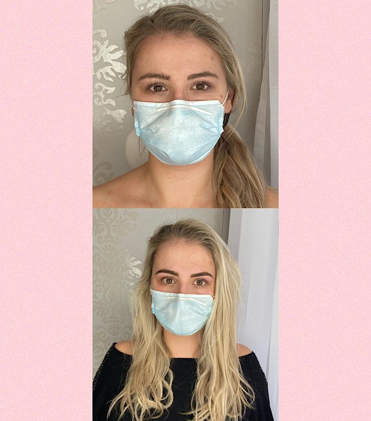 Ergebnis Wimpernlifting Kosmetikstudio Graz