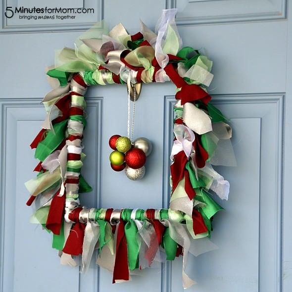 Holiday Ruffle Wreath