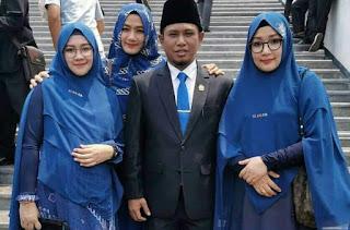 Jadi Anggota DPR Lagi, Lora Fadil Bawa 3 Istri ke Senayan