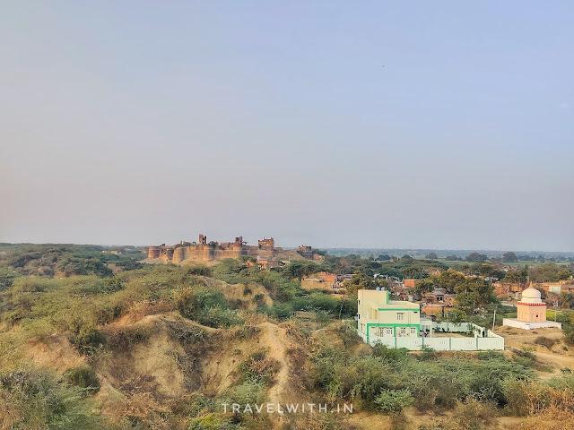 Bhareh fort ruins