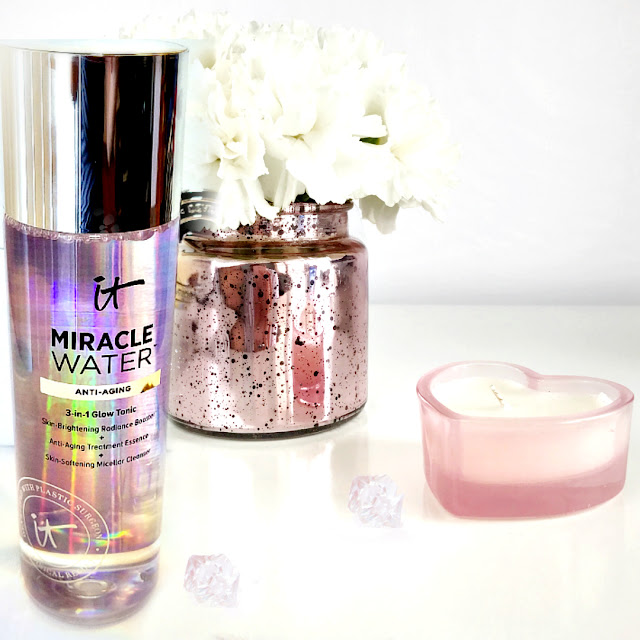 Itcosmetics Miracle Water 3 in 1 tonic toner by barbies beauty bits