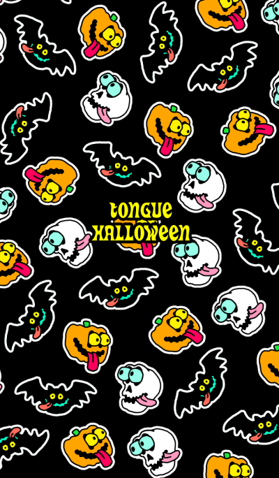 Tongue halloween