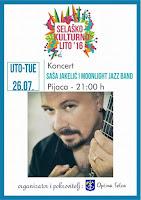Saša Jakelić i Moonlight Jazz Band, koncert, Selca slike otok Brač Online