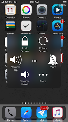 Use Assistive Touch to turn off iPhone/iPad Without Power Button.