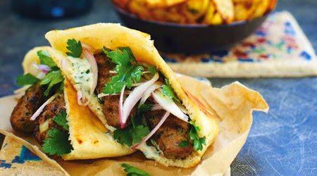 koftas consist of balls of minced or ground meat Kofta sandwiches recipe