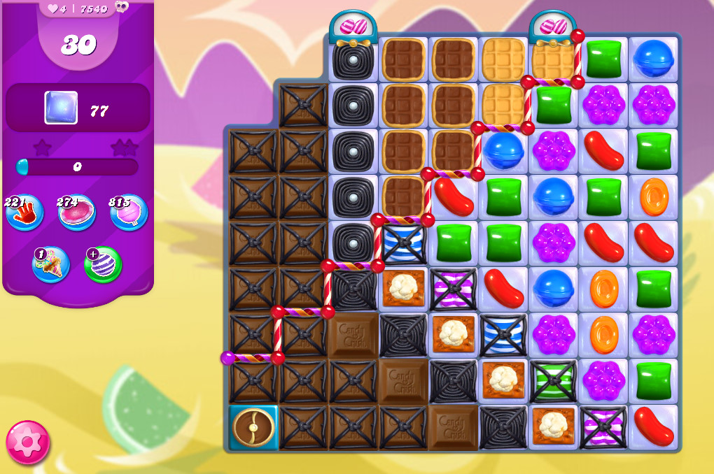 Candy Crush Saga level 7540