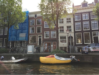Amsterdam Amstel bateau boat voyage sabot