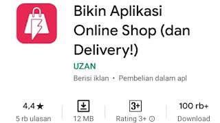 Cara membuat aplikasi toko online