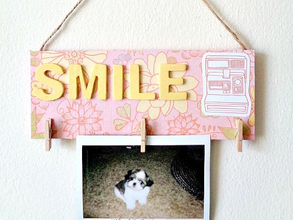 DIY: Mini Photo Holder