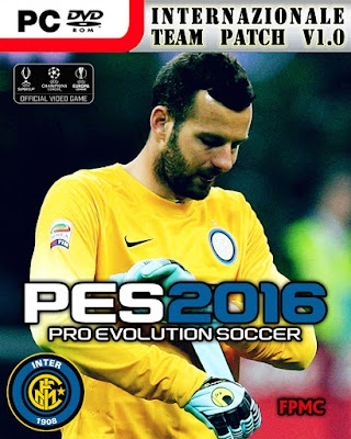 PES 2016 Internazionale Team Patch Version 1.0 by fifacana