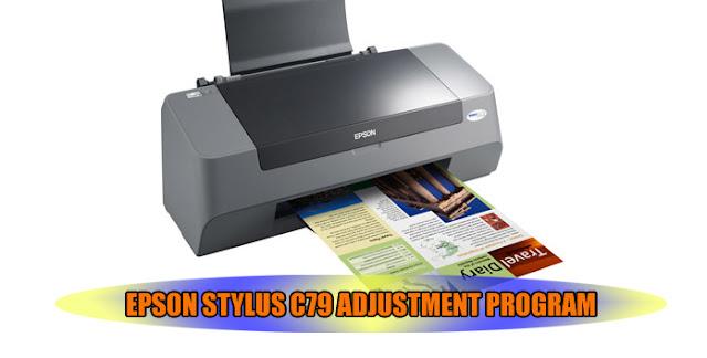 Epson Stylus C79 Printer Adjustment Program