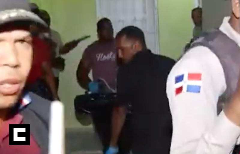 Video: Mató a su hijo, a un mecánico y se suicida en Santo Domingo Este