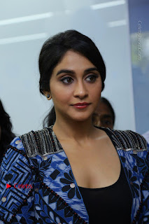 Regina Candra Latest Pictures in Blue Dress at Dr Agarwal Eye Hospital Inaugaration