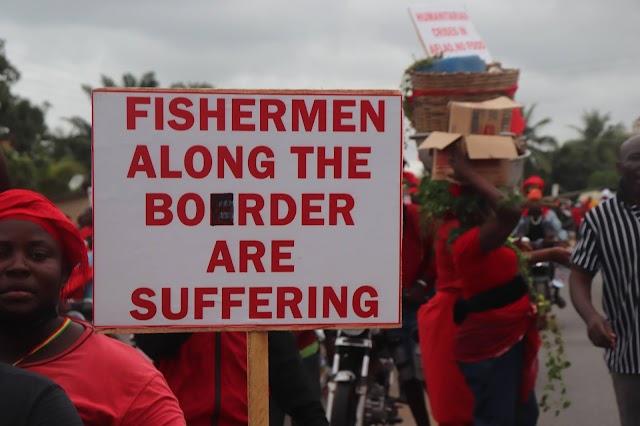 Fermeture des frontières : Ce qu'endurent les Ghanéens d'Aflao