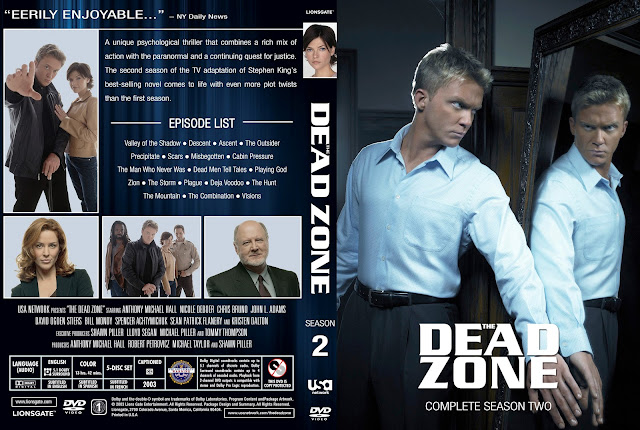 Dead Zone Season 2 DVD Cover