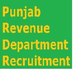 Punjab Revenue Department Recruitment 2016