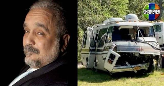Willie Colón internado tras un accidente de tránsito junto a su esposa
