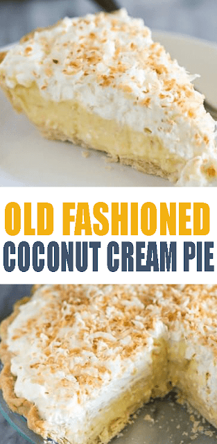 #OldFashioned Coconut #CreamPie