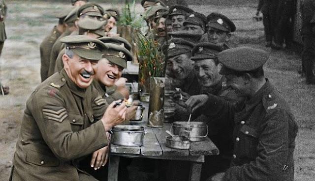 Ο Πρώτος Παγκόσμιος Πόλεμος με χρώμα (βίντεο)