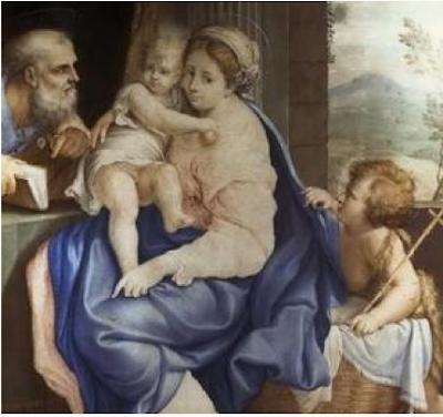 Sainte Famille Et Saint Jean Baptiste, Teresa del Po