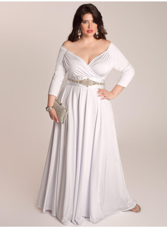 Model Dress Pesta Untuk Wanita Gemuk Gamis Brokat