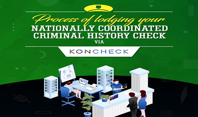 Know the Process of Lodging a National Police Check via Koncheck #infographic