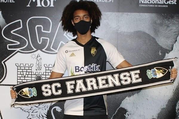 Oficial: Farense, firma cedido Tavares