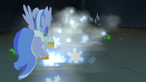 Pegasus Frost Magic Legend of Equestria