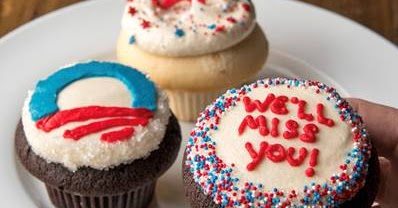 Cupcake Royale Is Selling Obama Farewell Cupcakes