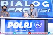 Launching Polri TV-Radio, Kapolri Jenderal Listyo: Agar Lebih Dekat dan Memberi Edukasi Masyarakat
