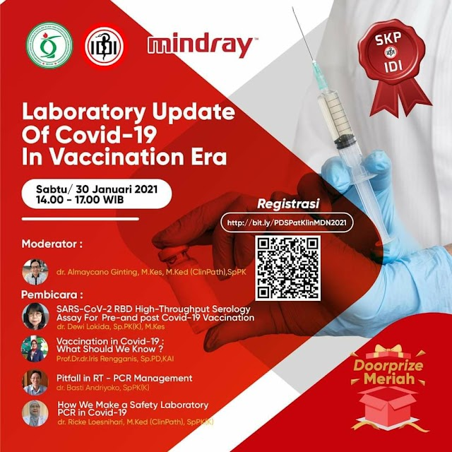Gratis SKP IDI Laboratory Update of Covid-19 in Vaccination Era