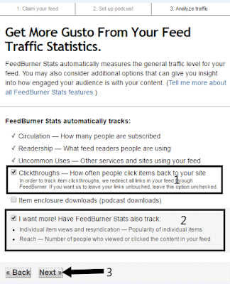 get more gusto from your feed traffic statistics