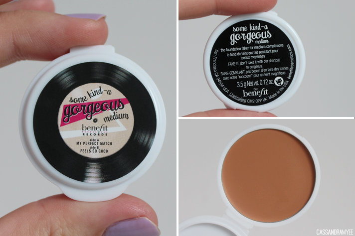 BENEFIT COSMETICS // Primping With The Stars Makeup Kit - Some Kind-a Gorgeous Foundation - cassandramyee