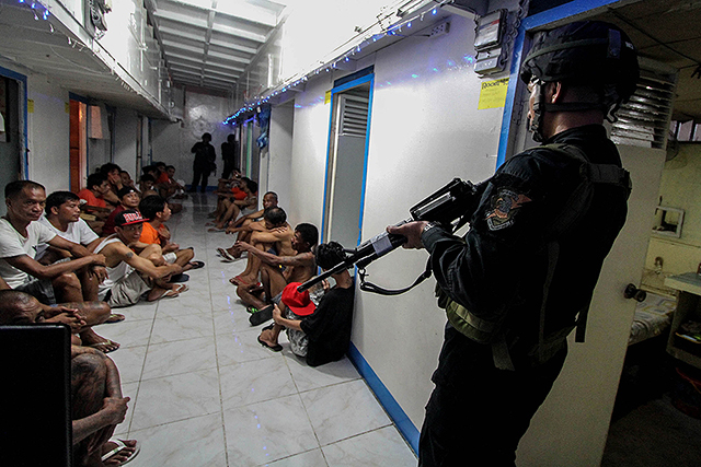 Duterte admin to put 1000 SAF troopers to guard Bilibid Prison