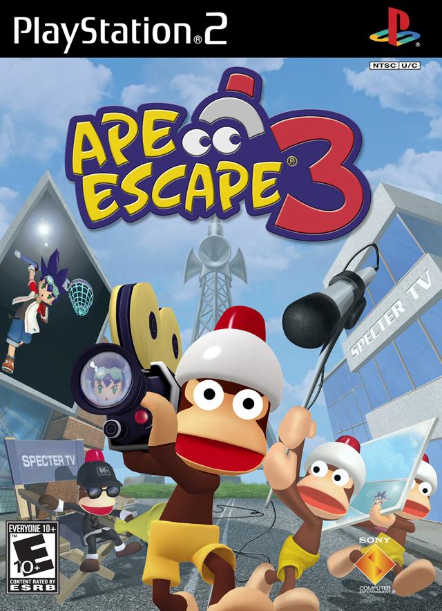 KERAKURUS - Ape Escape 3 (USA) PS2