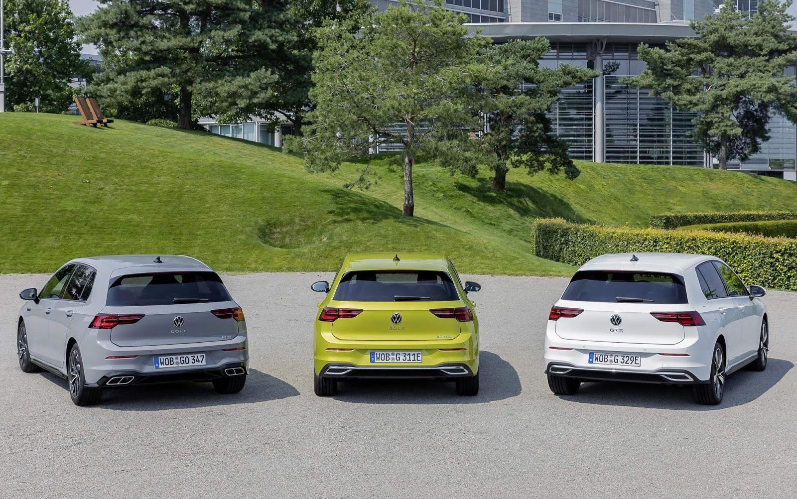 Golf foi novamente o carro mais vendido da Europa em 2020