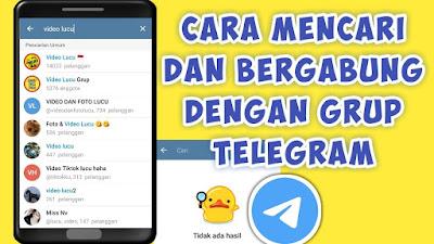 Cara Masuk Grup Telegram tanpa Diundang Admin