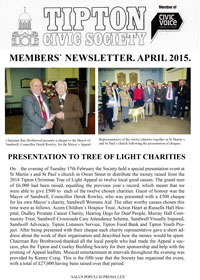 TCS Newsletter April 2015