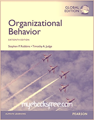 Organizational Behavior Pdf eBook 16e by Robbins and Judge (Global Edition)