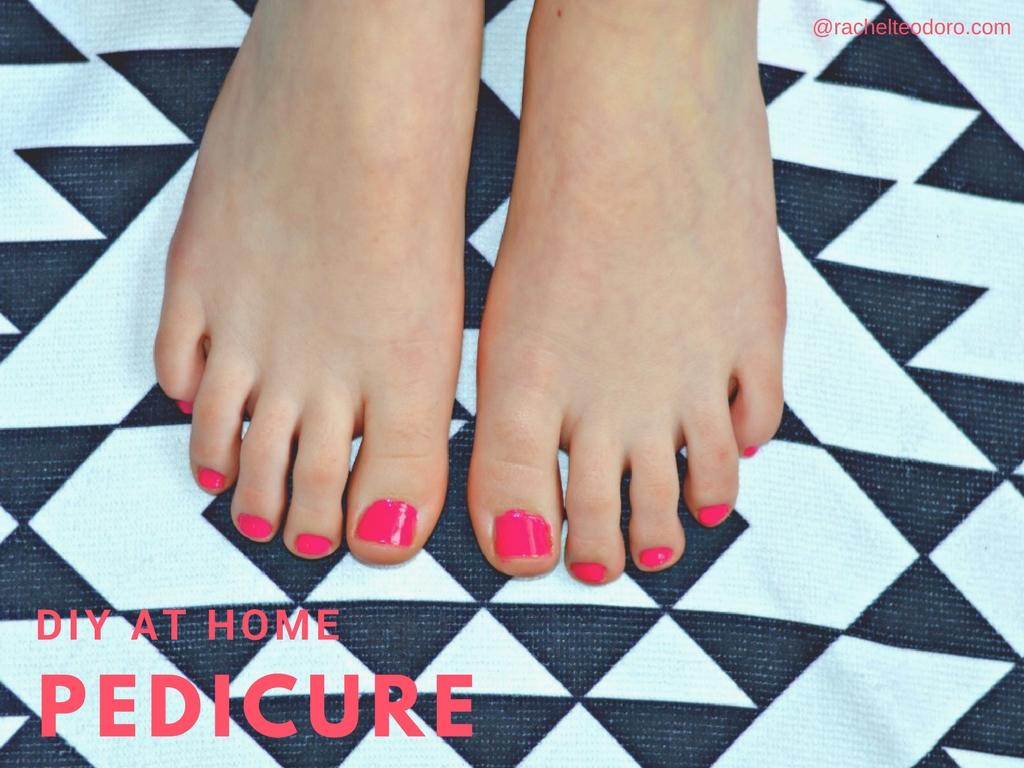 Diy At Home Pedicure Datfeata Blog Title Datfeata Blog