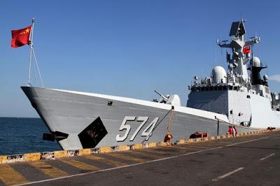 China Diam Diam Bangun Dermaga Kapal Perang di Laut China Timur Walau pada Akhirnya Ketahuan Juga - Commando