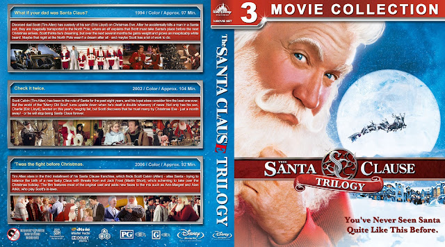 The Santa Clause Trilogy Bluray Cover