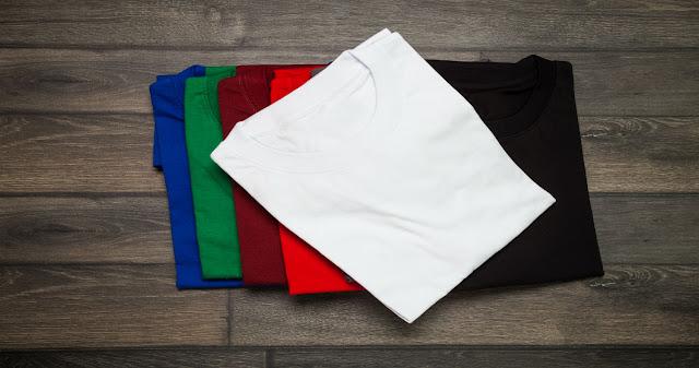 Cara Merawat Warna Kaos Polos Agar dan Terbebas dari Jamur
